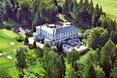 Parkhotel Golf Marienbad República Checa