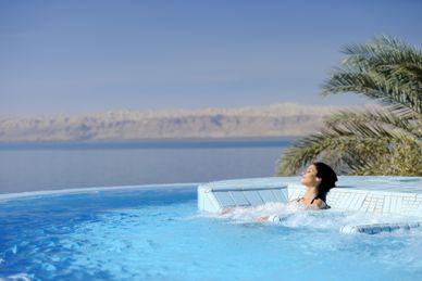 Relajación en el Mar Muerto