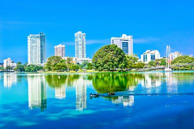 Escala en Colombo